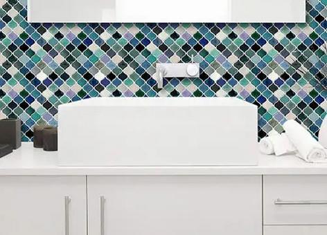 arabesque peel and stick vinyl tile